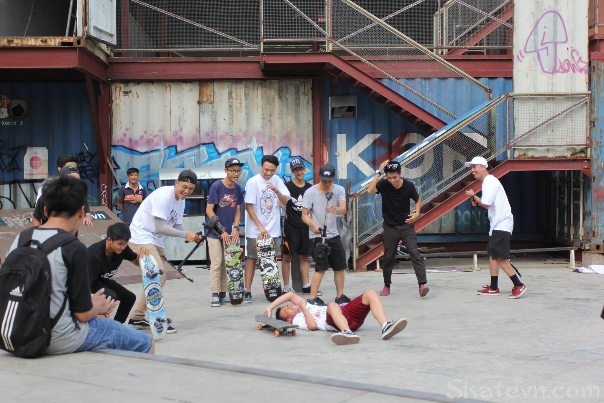ngày hội trượt ván