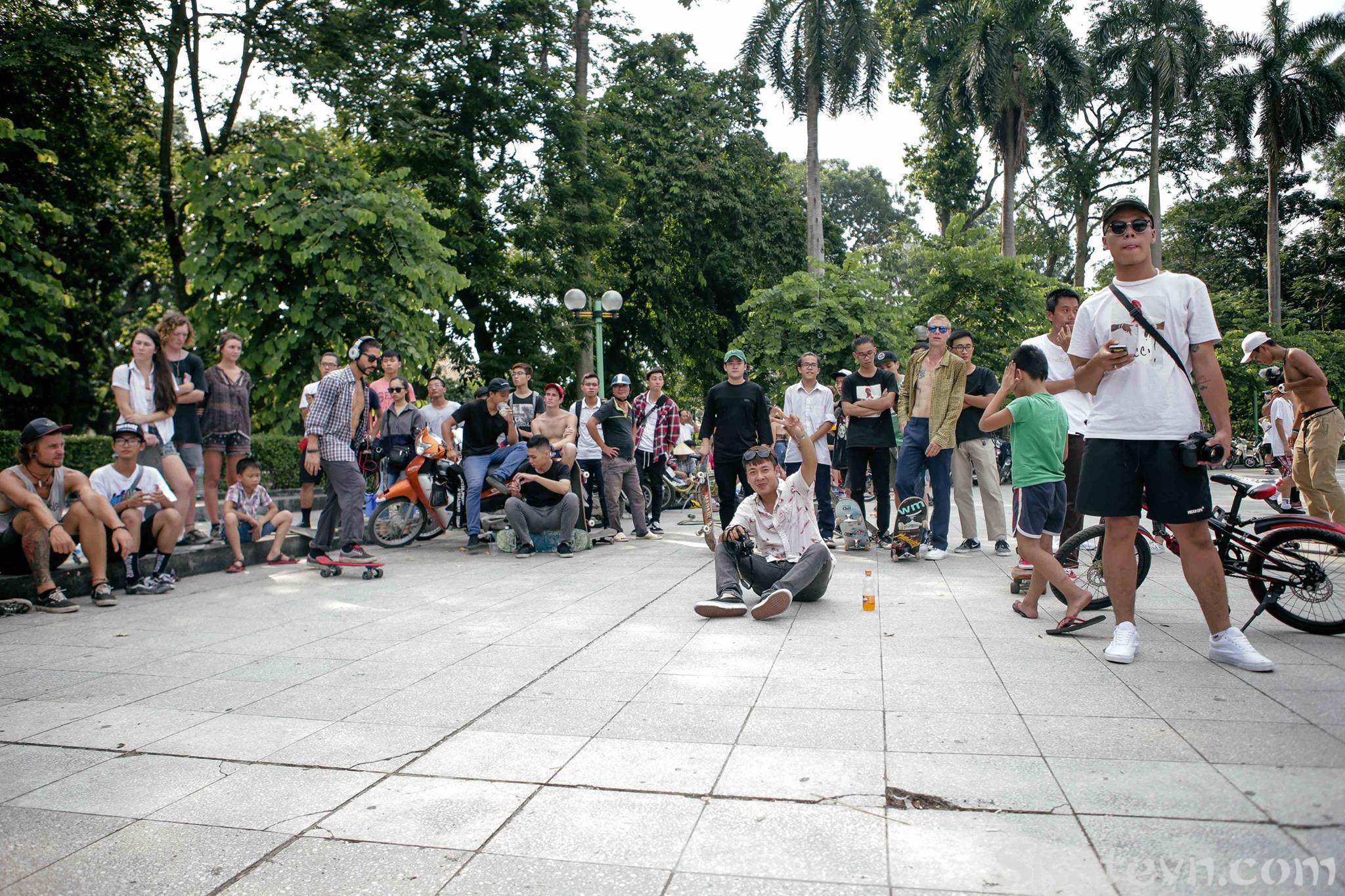 Giải trượt ván cùng các Pro Skaters