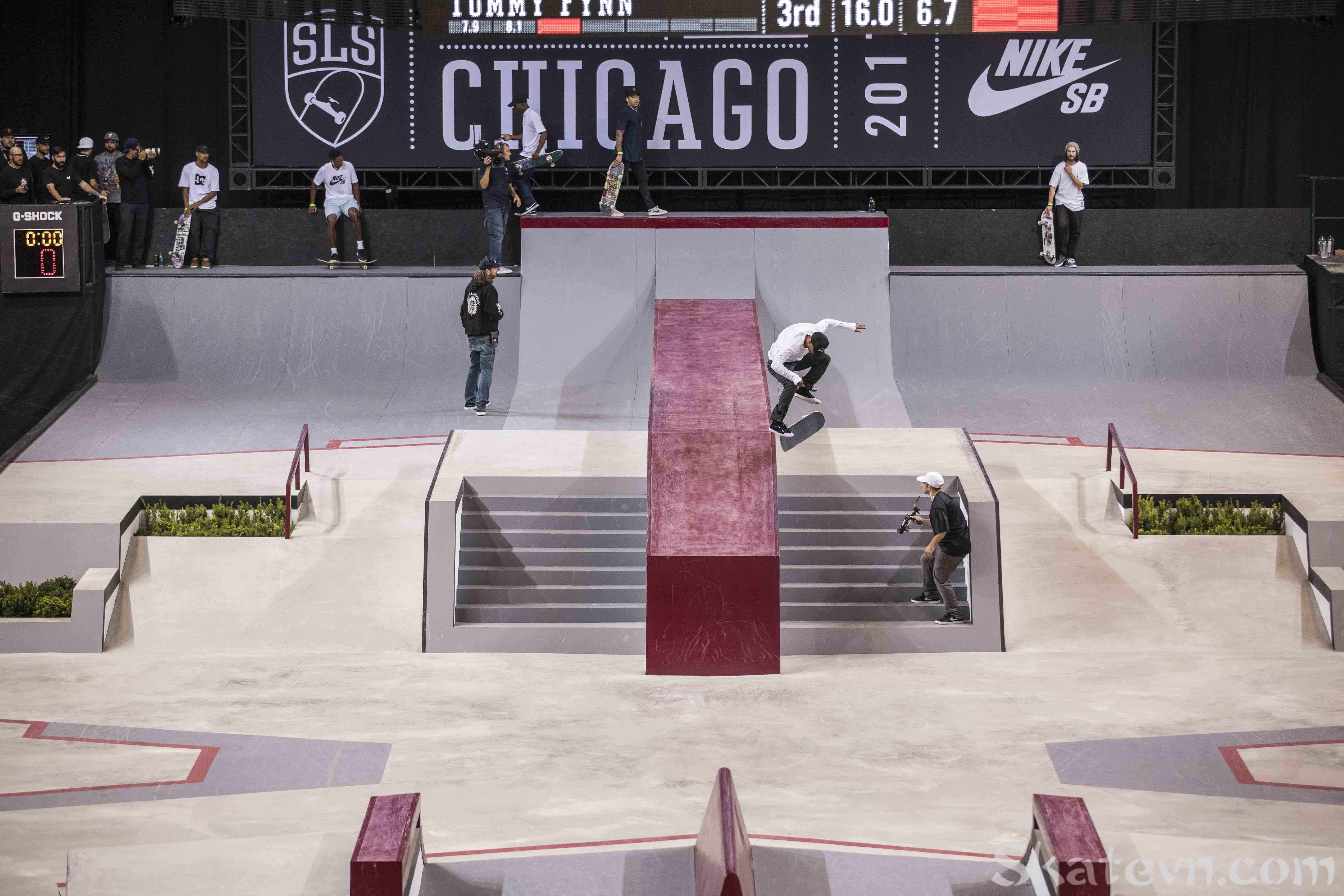 giải trượt ván lớn nhất thế giới chicago 2017